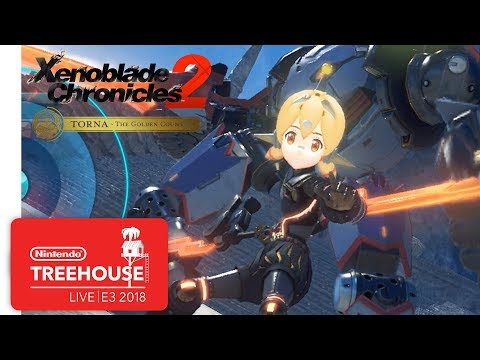 Xenoblade Chronicles 2: Challenge Battle Mode Gameplay - Nintendo Treehouse: Live | E3 2018
