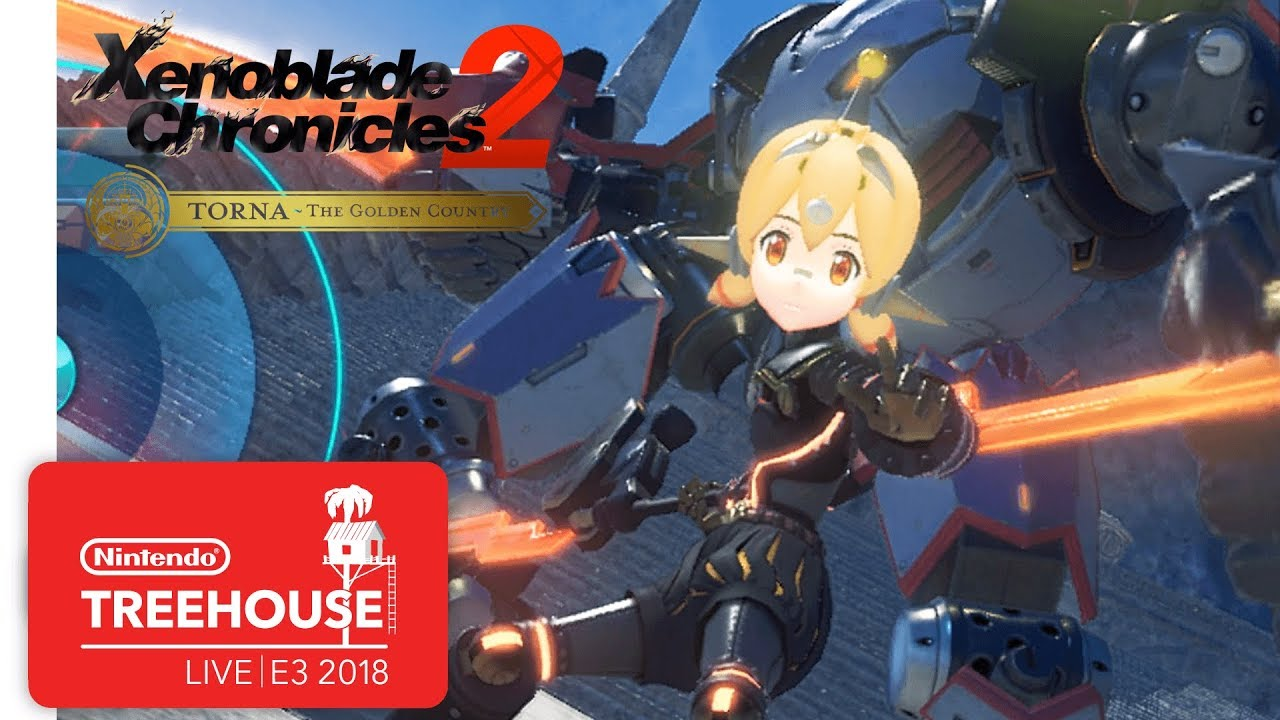Xenoblade Chronocles 2: Challenge Battle Mode Gameplay - Nintendo Treehouse: Live | E3 2018