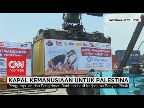Kapal Kemanusiaan RI untuk Palestina