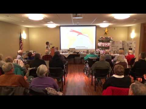 Michelle Arnosky Sherburne at the Gilford Public Library 12.6.2016 mp4