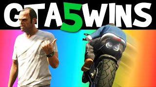 GTA 5 WINS – EP. 1 (Funny moments, Stunts, Epic Wins compilation online Grand Theft Auto V Gameplay)
