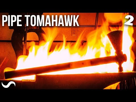 MAKING A PIPE TOMAHAWK!!! Part 2