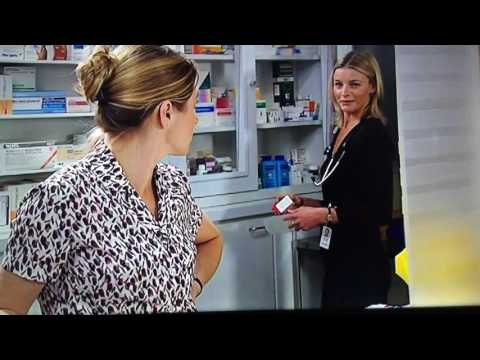 Bron and Charlotte discuss her father ( Libby Tanner )