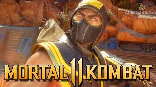 "FIRST TIME PLAYING MK11 ONLINE WITH SCORPION! - Mortal Kombat 11 Online Beta: ""Scorpion"" Gameplay"