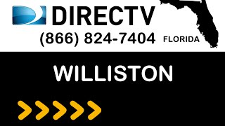 Williston FL DIRECTV Satellite TV Florida packages deals and offers