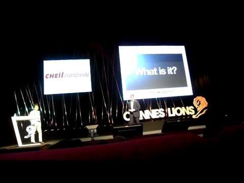 Cheil Worldwide seminar (Cannes lions 2011)