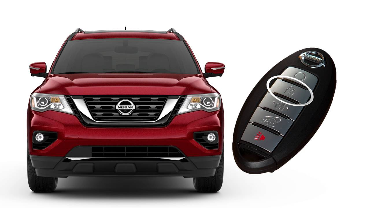 2017 Nissan Pathfinder Remote Engine Start If So Equipped