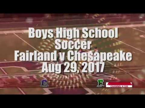 H.S. Boys Soccer - Fairland vs Chesapeake