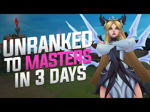 TF Blade - Unranked To Masters In 3 Days! (Day 1 - Placements)