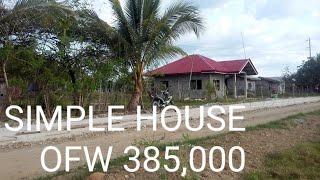 OFW SIMPLE HOUSE STORY PAG PPAGAWA NG BAHAY STEP BY STEP