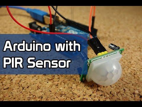 Arduino with PIR Motion Sensor