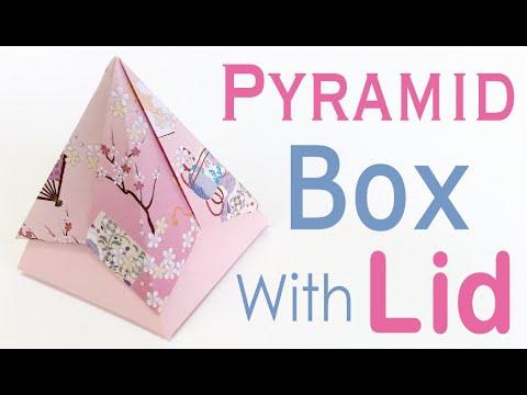 paper origami pentagonal gift box instructions doovi