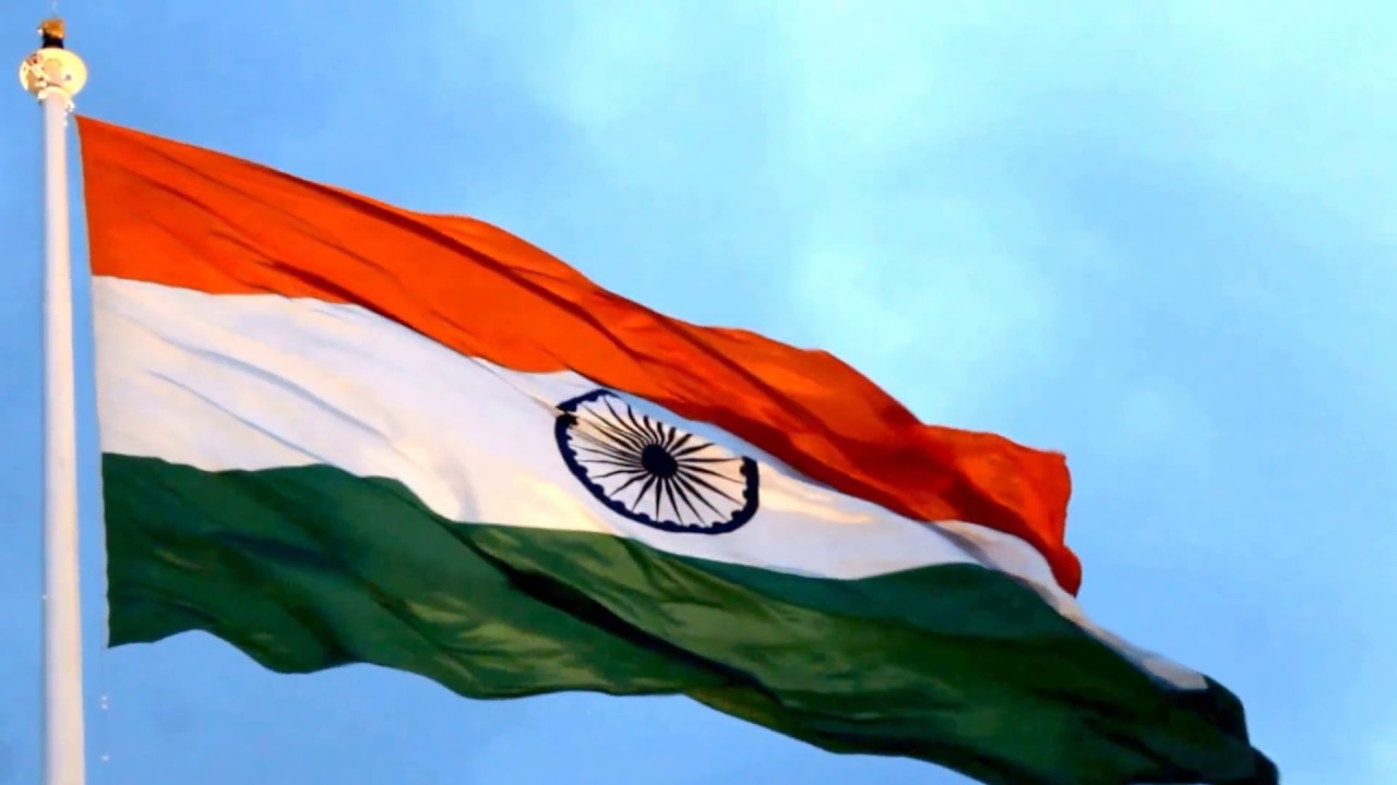 indian flag beauty of flying youtube