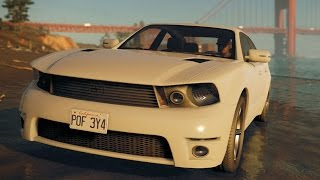 Watch Dogs 2 - Sonarus LX - Muscle Cars - Driving & Free Roam Gameplay (PC HD) [1080p60FPS]