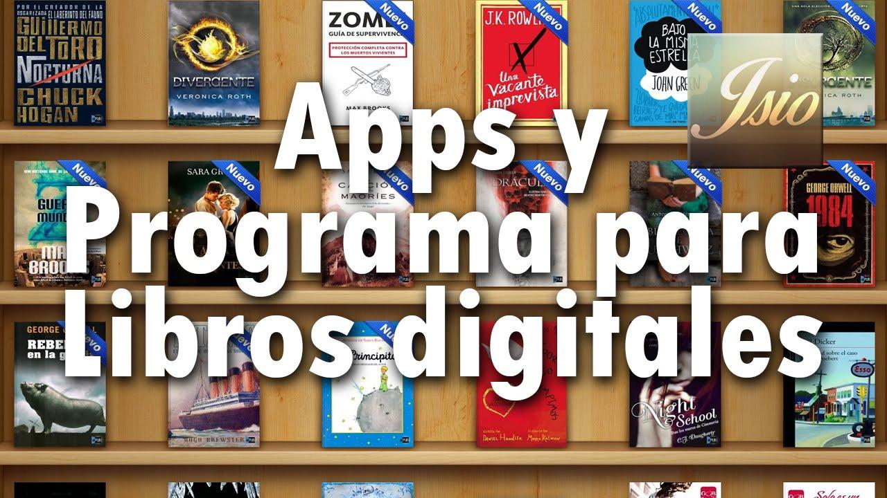 Apps Y Programa Para Leer Libros Digitales