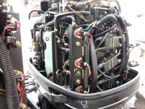 1999 Mercury Opti Max 225 HP Outboard Engine - Ignition Coil Testing -  Engine Surveyor Palm Beach