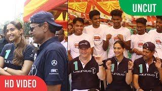 UNCUT - Sonam Kapoor And Kapil Dev At Magic Bus Project | Laureus Sport thumbnail