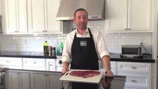 "How To Grill A Flank Steak, The ""original"" London Broil, With Bakar Meats"