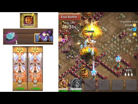 MechTessa Augmented Traits CRAZY Dungeon Gameplay Castle Clash