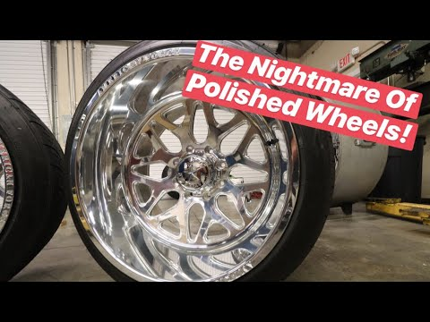 New Camera + HOW TO Polishing Forged Wheels From Beginner