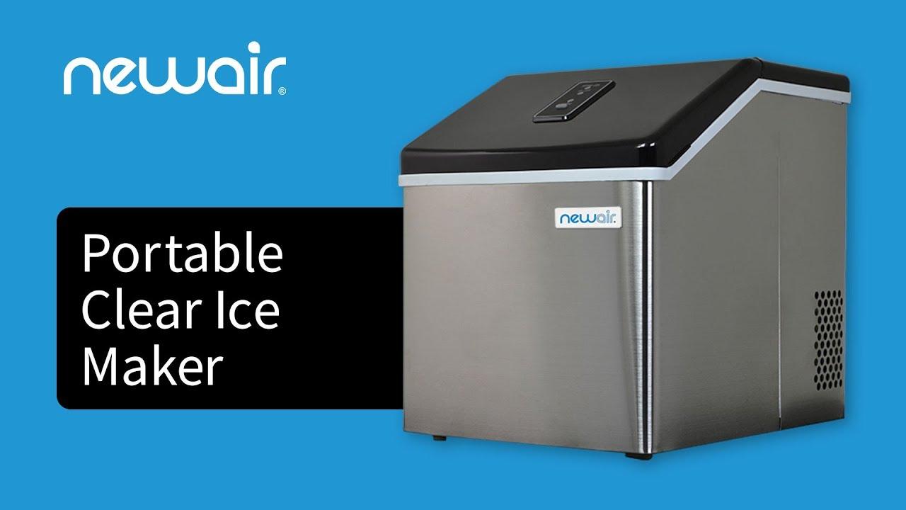 Merveilleux Portable Clear Ice Maker ...