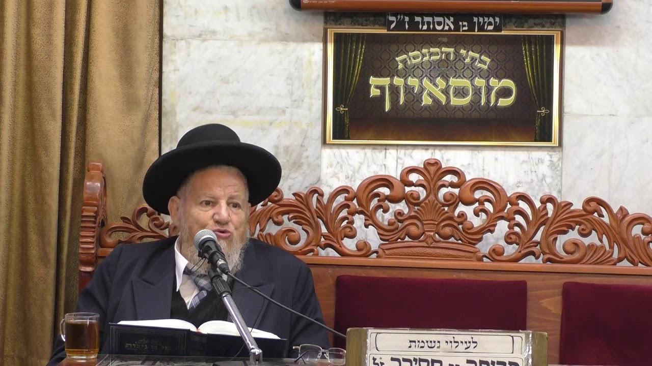 הרב מאיר מזוז גלות ישראל במצרים