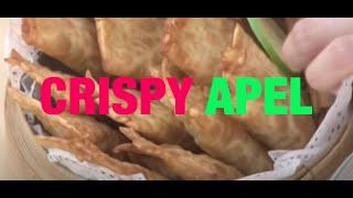 resep cara membuat Crispy Apel by chef marinka