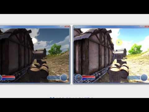 NeoAxis Engine - Урок 11-1 (Описание пост-эффектов)