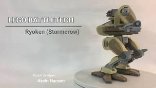 Lego Battletech: Ryoken (Stormcrow) Mech
