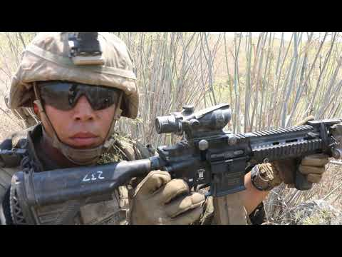 U.S. Marines: 1st Marine Division conduct offensive operations– Supersquad 2020 skills to determine