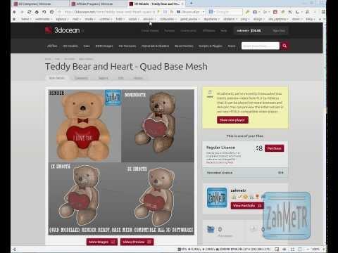 3d Model Satışı Nasıl Yapılır 3docean.net Tutorial Detaylı  Anlatım Eğitim Videosu