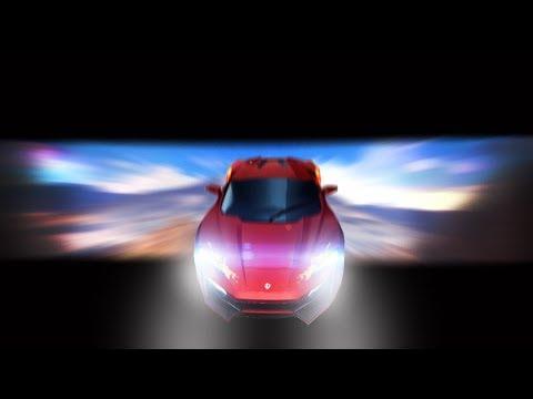 Asphalt 8 - Immersive Cam - Wide Angle - Musical Run.. With Lykan Hypersport