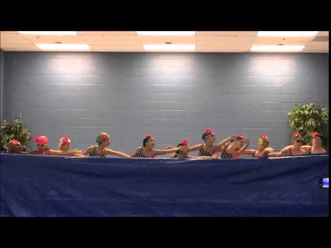 Synchronized Swimming Sweethearts Dance With RACHEL NALL