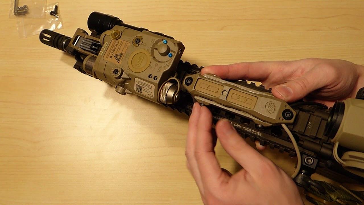 Night Evolution PEQ Remote Dual Switch 2 Plug Military Pressure Pad Switch