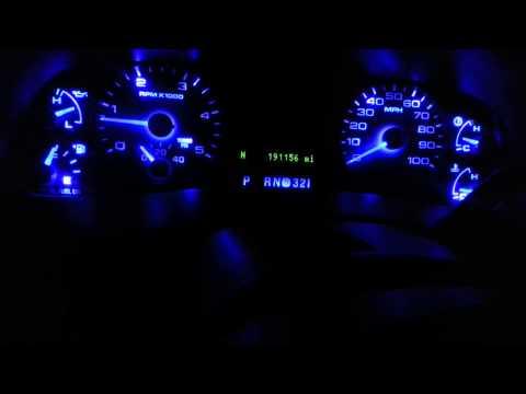 2007 FORD F250 SPEEDO REPAIR & LED CONVERSION