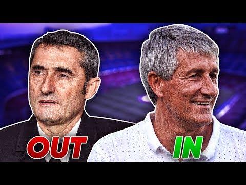 BREAKING: BARCELONA SACK ERNESTO VALVERDE   Euro Round Up