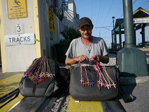 Bill came to New Orleans to follow his dream of working on a tugboat and ended up homeless.