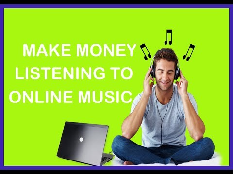 How To Make $12 Per Hour Listening To Music Online!