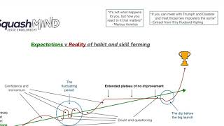 Expectations v Reality in habit and skill forming