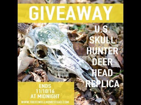GIVEAWAY US Skull Hunter Replica