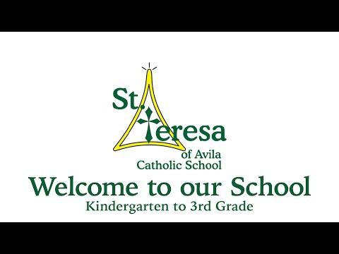 St Teresa of Avila Catholic School Tour - Kindergarten through 3rd Grade, Carson City, NV