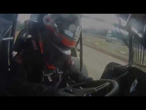 June 11, 2011 - K-C Raceway - Sheldon Haudenschild wins his first ever 410 sprint car A-Main