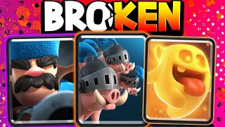THEY COMPLETELY BROKE ROYAL HOGS (TOP DECK)