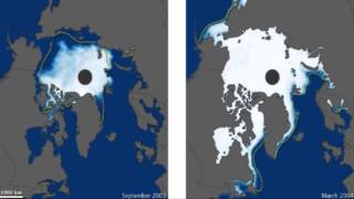 видео Чем лёд в северном ледовитом океане