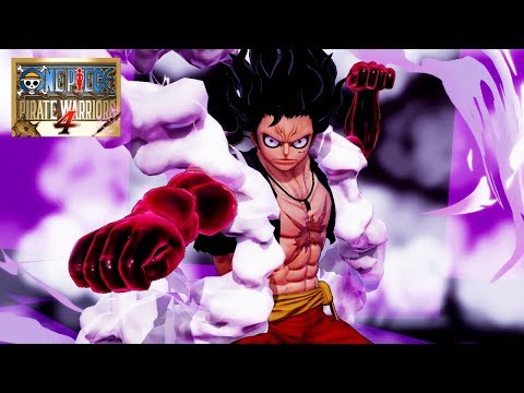 [Español] One Piece: Pirate Warriors 4 - Release Date Trailer - PS4/XB1/NSW/PC