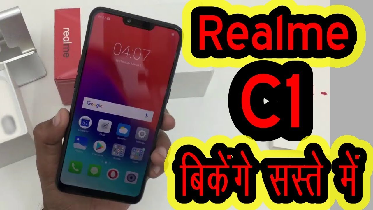 Realme C1 Unboxing, Price, Specification & Review in Hindi | Delight Technical Guruji