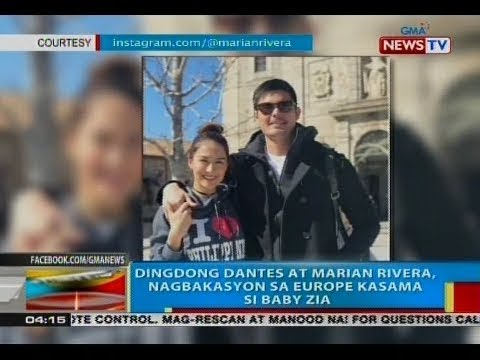 BP: Dingdong Dantes at Marian Rivera, nagbakasyon sa Europe kasama si Baby Zia - 동영상