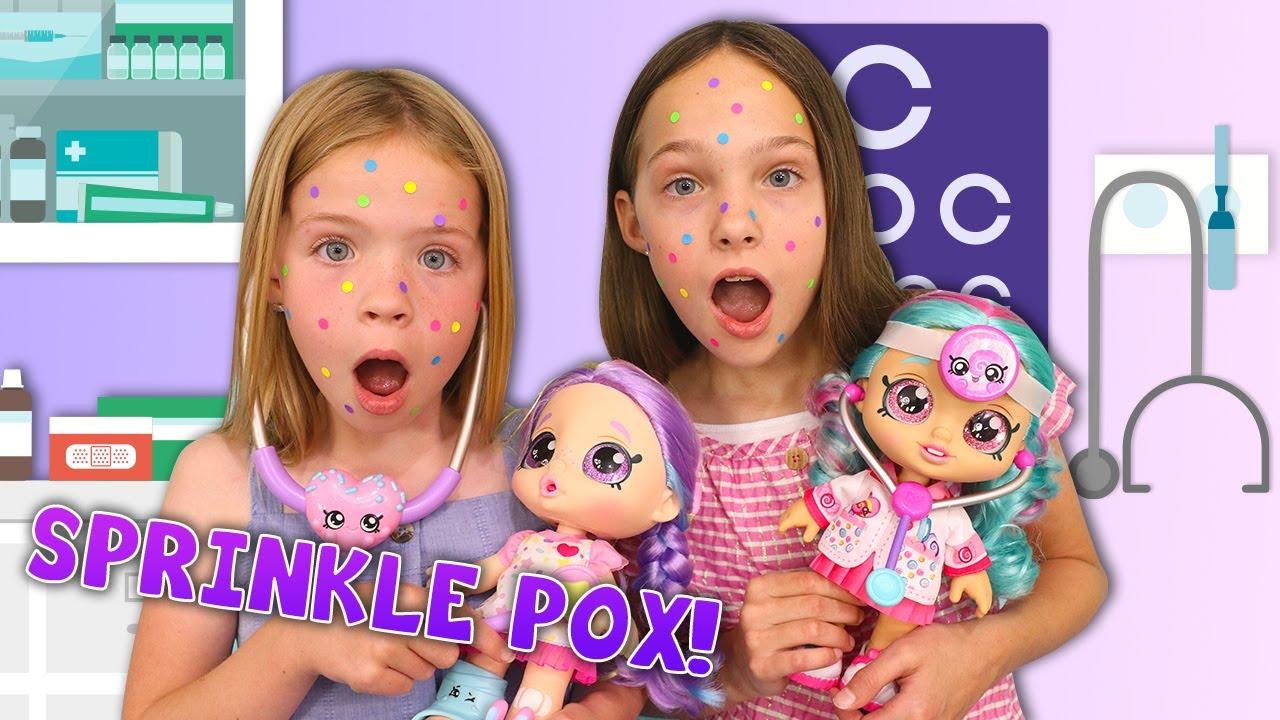 HELP! We're Sick with Sprinkle POX !!!