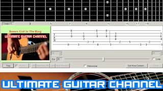 [Guitar Solo Tab] Brown Girl In The Ring (Boney M)