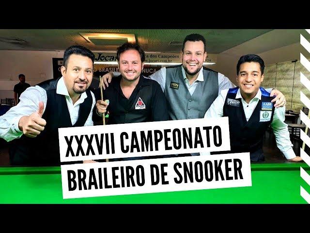 Brasileiro de Snooker 2020 - Resumo e entrevistas